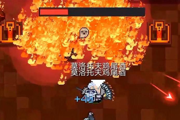 元气骑士:鸡尾酒的神秘用法,10秒叠加50层火焰比火龙步枪还好用