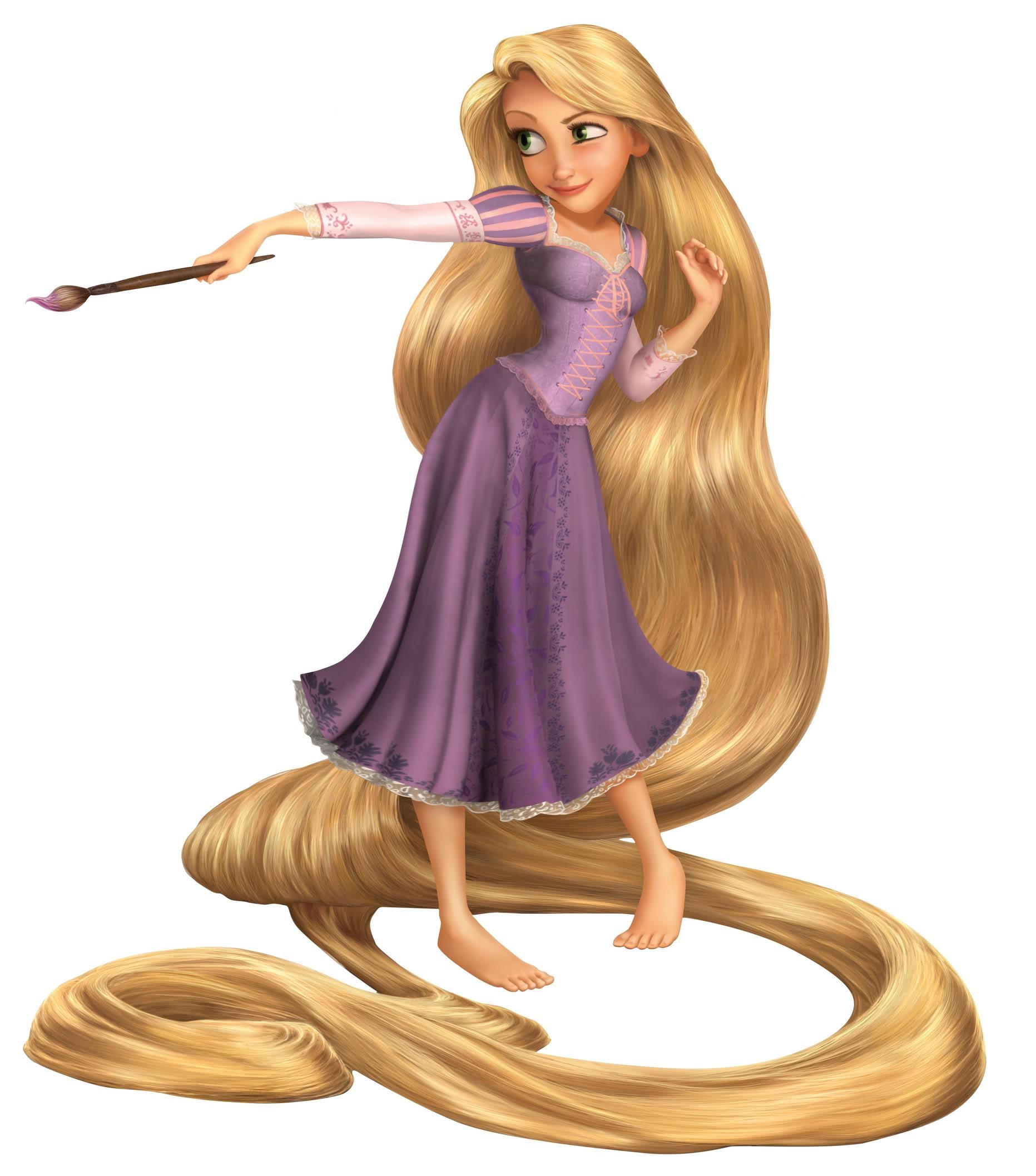 迪士尼公主:《长发公主》乐佩公主,她的长发惊艳,故事图片
