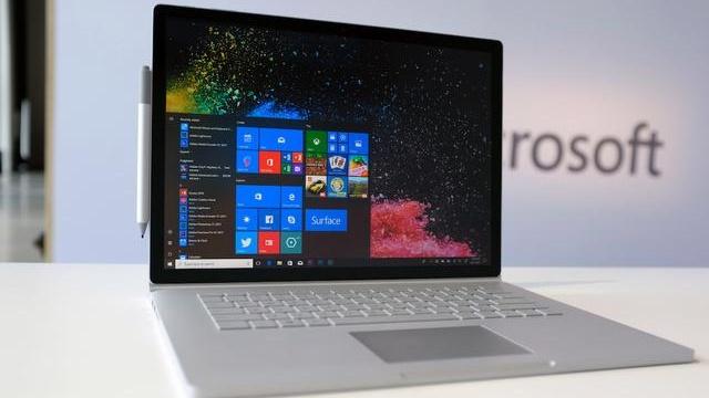微软推新 Surface Book 2,用上英特尔最新一代处理器