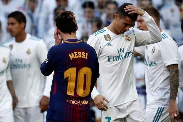 当今两大球星,C罗被皇马卖,巴塞为何不卖梅西?