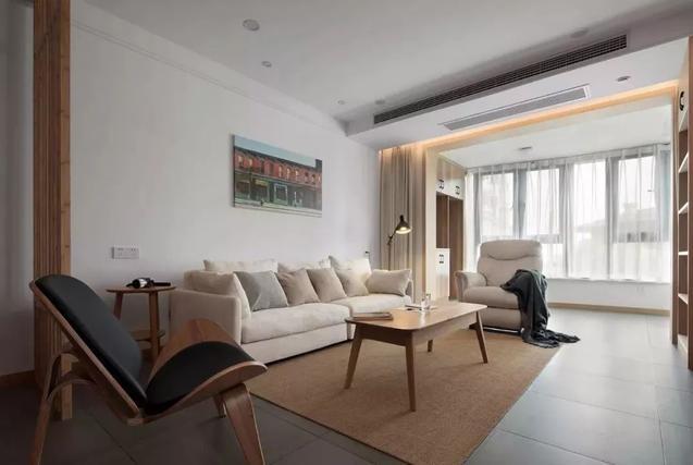 134㎡极简原木风,简单的空间,也能搭配出气质感!