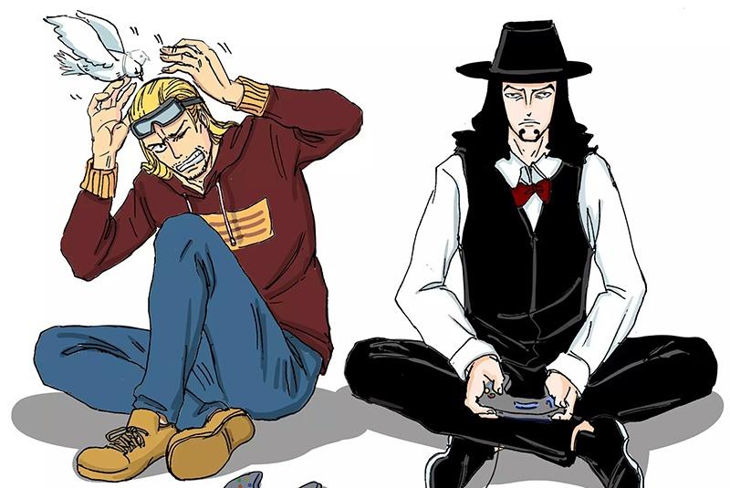 海贼王:当挚友们游戏不合,索隆山治只动手不动口,明哥正面耍赖