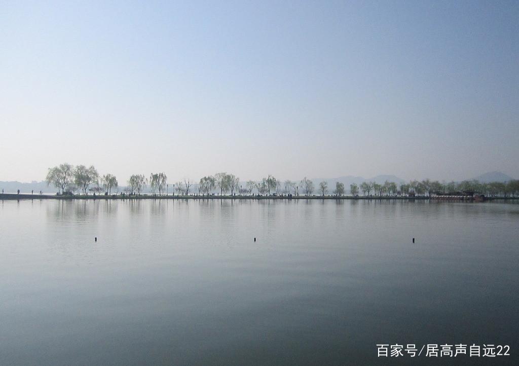 杭州西湖风景秀丽,风景迷人,让人回味无穷