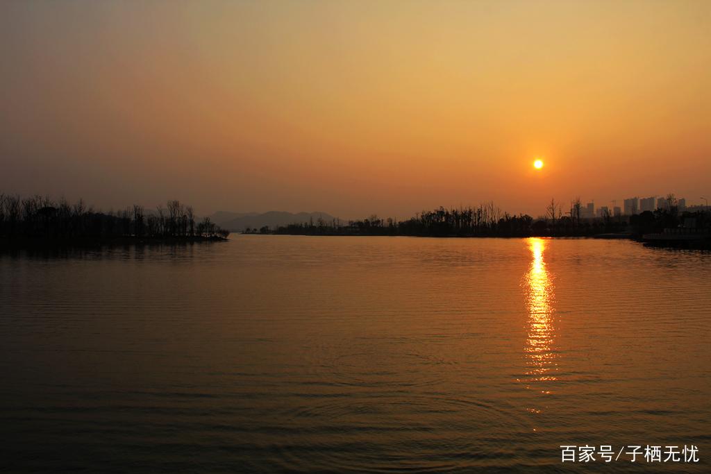 风景写实——梅溪黄昏