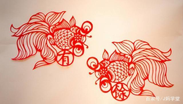 剪春字窗花的步骤图片