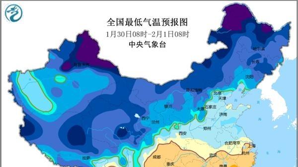 寒潮蓝色预警:东北江南等地降温可达10~12℃
