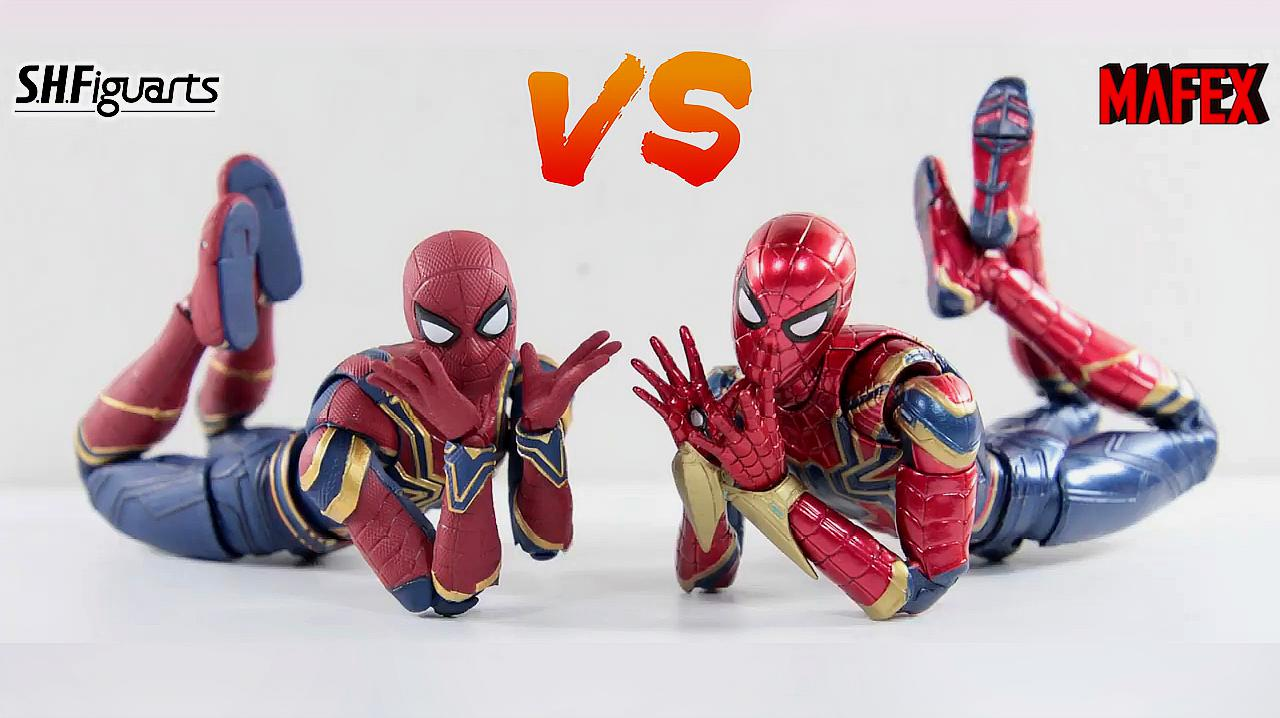 S.H F万代&Mafex:哪款钢铁蜘蛛手办更值得入手?