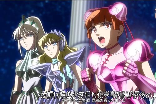 圣斗士星矢少女翔第10集:撒加终于如愿以偿化身为战神阿瑞斯?