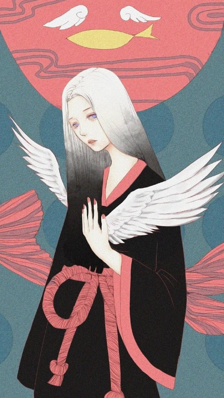 绝色妖娆_古风手绘绝色妖娆美女子壁纸,世界本来很静,宣闹的是