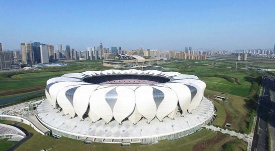 杭州体育馆_2019-02-14 08:32 | 杭州日报 位于体育场路上的杭州体育馆,提升改造