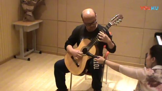 鸣悦之声 汇报演出 古典吉他 刘磊