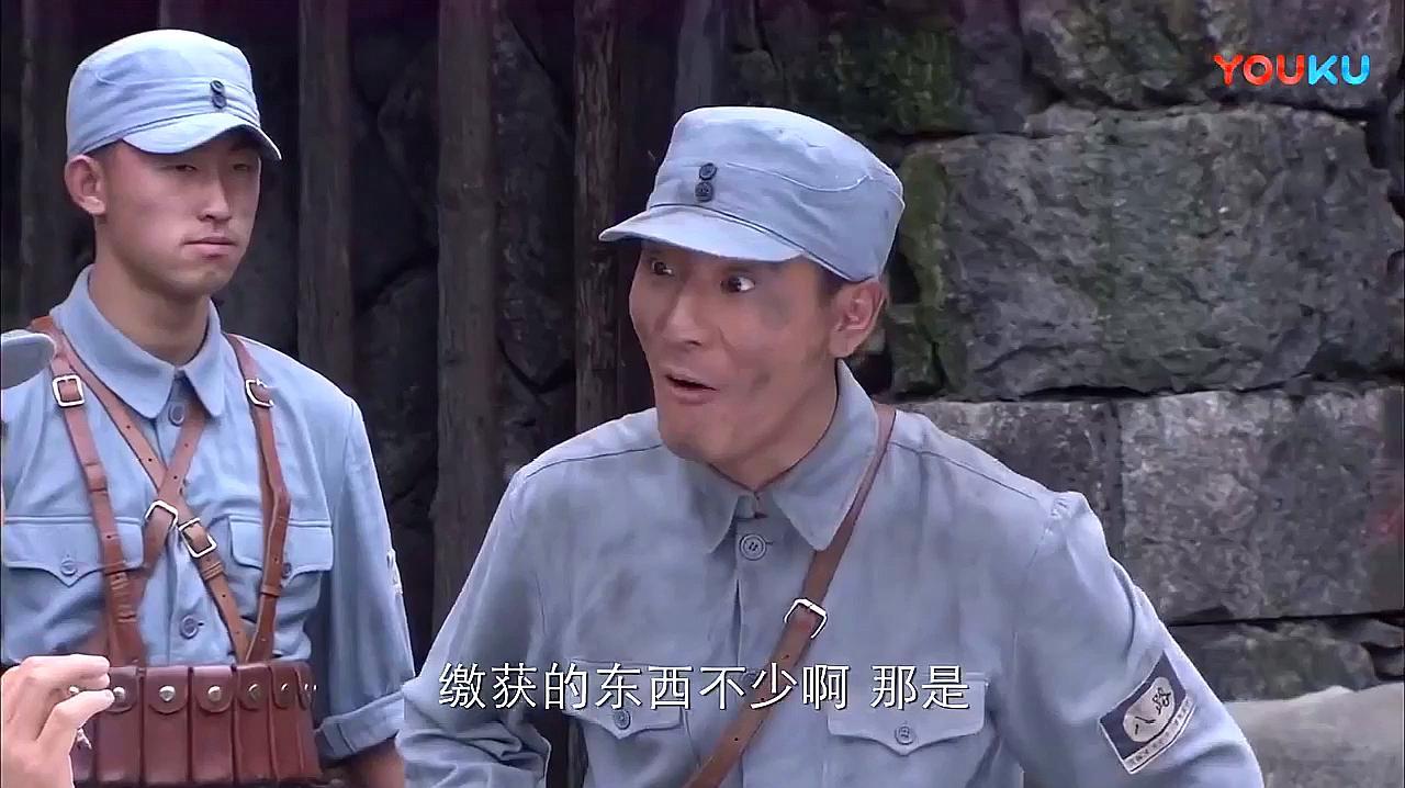 小日本打汉奸嘴巴,汉奸:太君,你除了扇嘴巴,还能会点别的吗