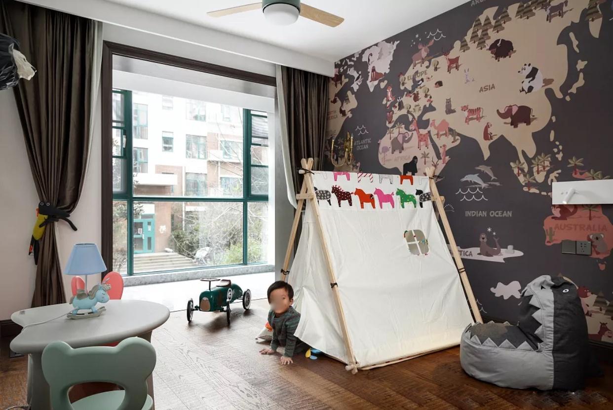 以后有钱,儿童房一定要这样装,舒适又美观,孩子都不想出门玩了
