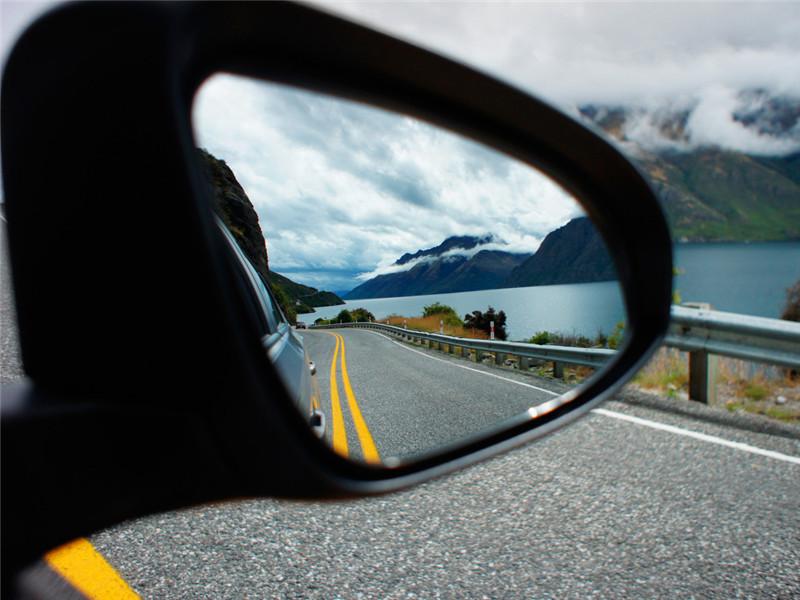 后视镜怎么调才能减少盲区?老司机:给你几张图,看完你就明白了