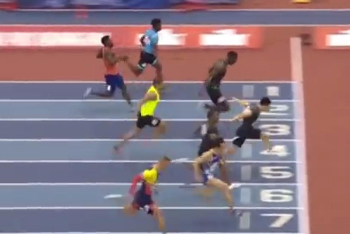 6秒47!苏炳添创今年60米世界最佳,获得赛季第二冠!