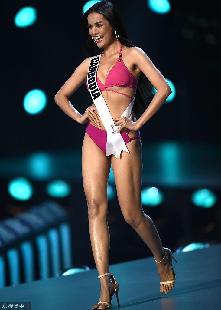 中国选美大赛_当地时间2018年12月13日,泰国曼谷,曼谷举行2018年环球小姐选美大赛