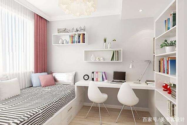 小户型巧妙设计,卧室+书房融为一体,空间节省3倍,越看越喜爱