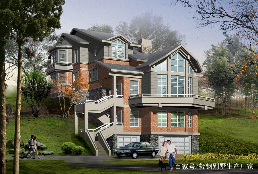 合适家轻钢别墅生产厂家,专注于轻钢别墅个性设计与定制,给自己一个图片