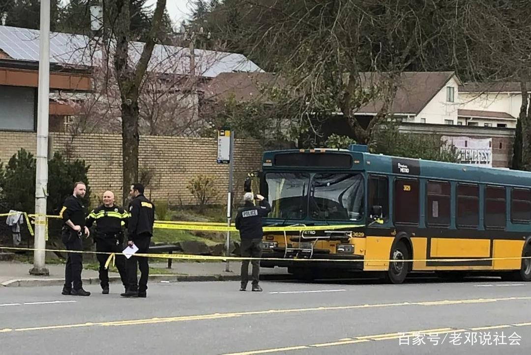 西雅图发生枪击案,男子扫射人群,巴士司机中枪后的举动让人敬佩…