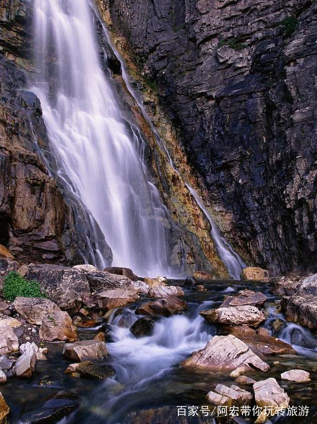壁纸 风景 旅游 瀑布 山水 桌面 629_840 竖版 竖屏 手机