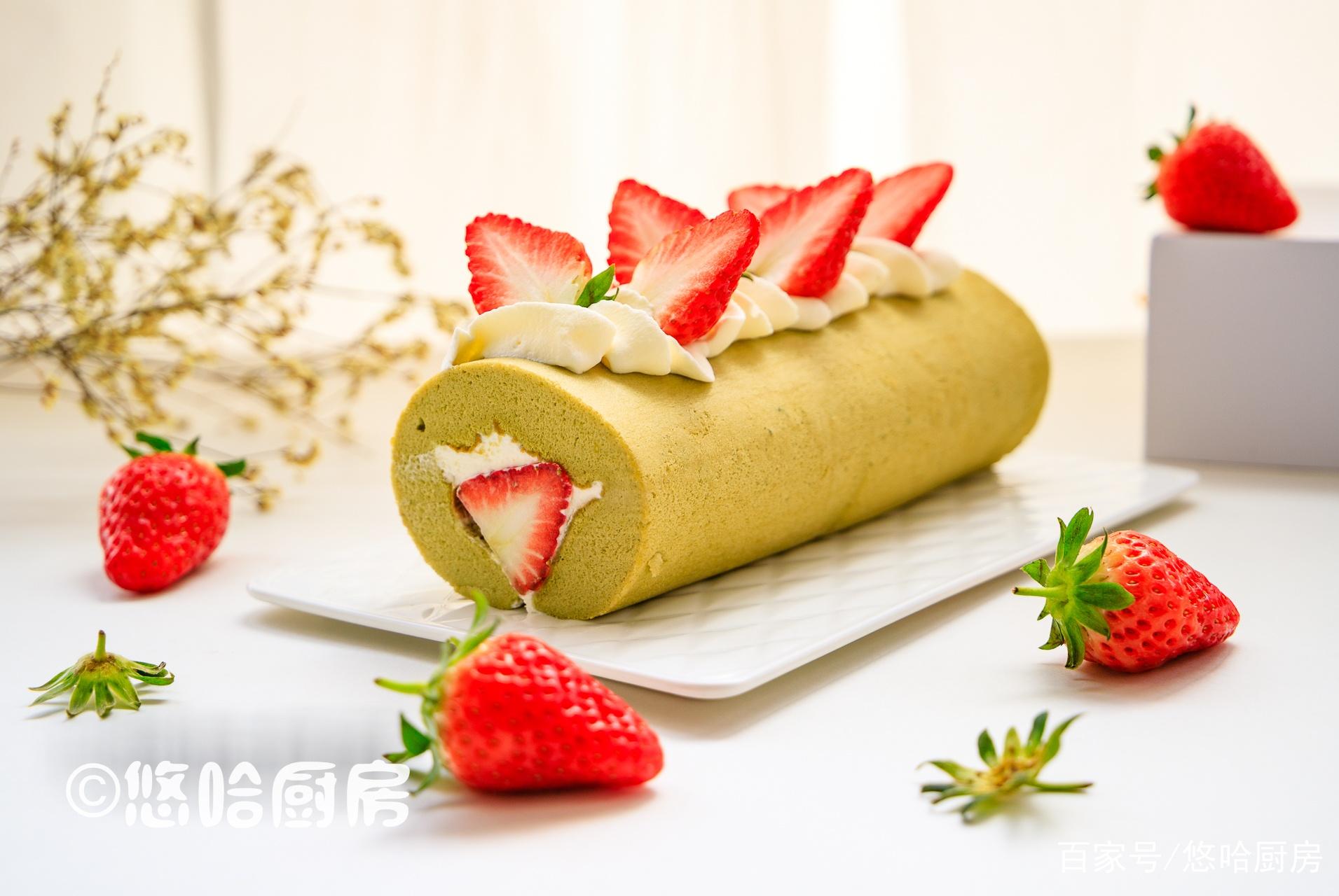 女神节,用这款红绿搭配的蛋糕,取悦我的女人,网友说:你真单纯