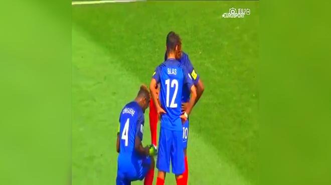 「世青赛最佳进球」来自法国的Allan Saint-Maximin,本赛季法甲的过人王,效力摩纳哥,本赛季租借在巴斯蒂亚,下赛季估计要起飞了,摩纳哥收获新80M先生 「使用 录制」