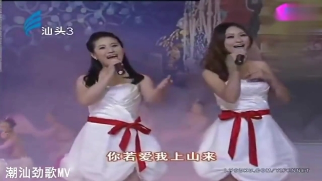 「潮汕歌曲」杨梅花开无人知—汕头姐妹