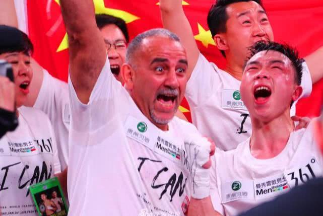 中国最有面儿的拳王!主席门多萨与金童霍亚都来给徐灿颁发金腰带