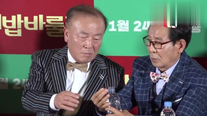 「韩国直击」电影《美丽人生》试映会 朴仁焕申久展岁月魅力