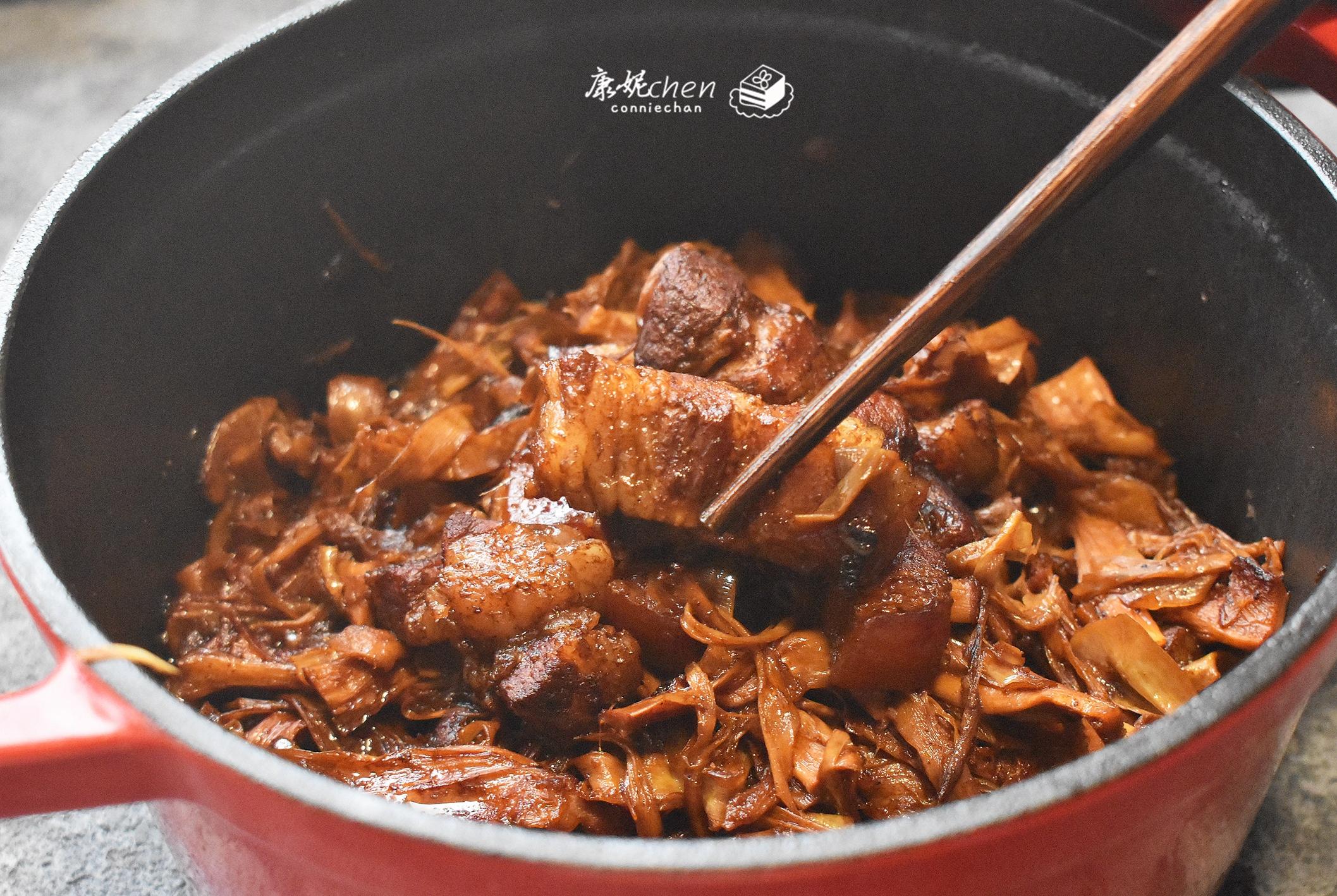 红烧肉不用油不用炒糖色,这样做简单又好吃,鲜香入味,超下饭