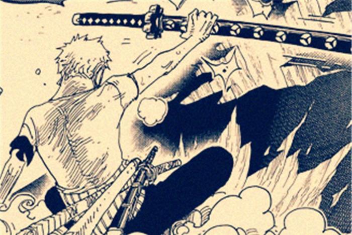 海贼王官宣:索隆第3度换刀坐实,河松奉送最后1把刀,鹰眼笑了!