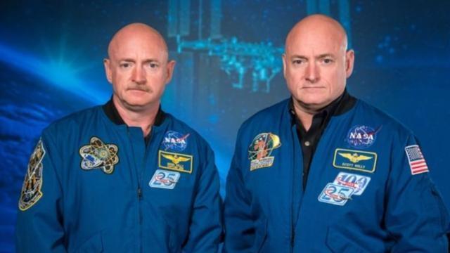 NASA双胞胎研究显示,太空生活会引起人体细微变化