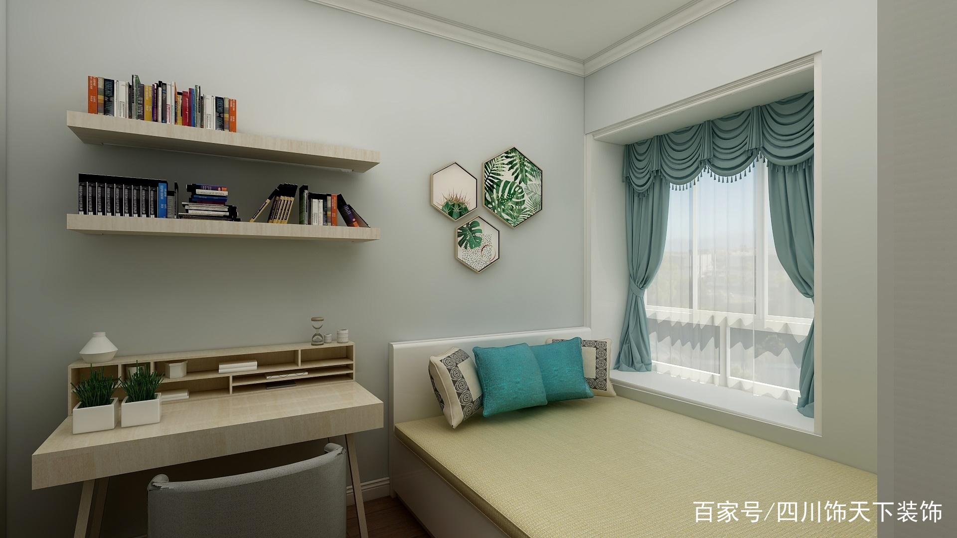 [装修日记]多功能卧室,这样排布,干净整洁
