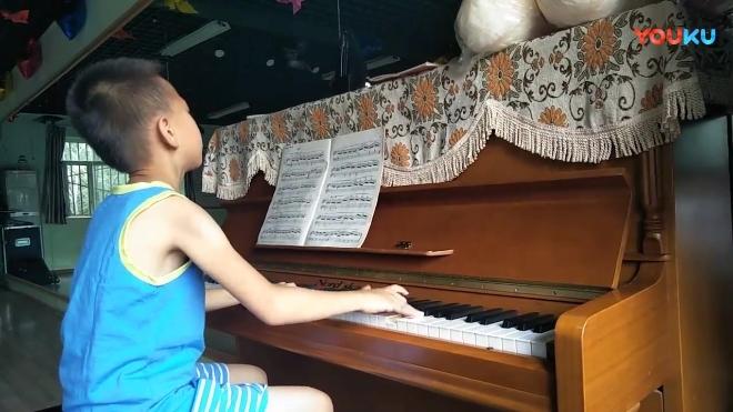 王腾巨演奏的作品车尔尼849之25课