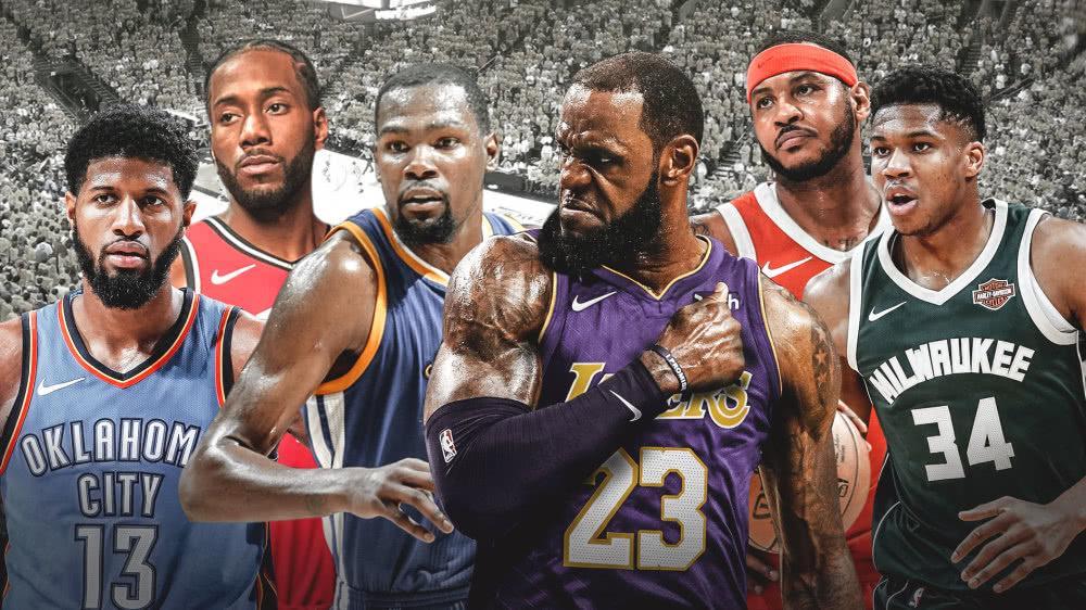 NBA现役小前锋巨星排名,阿杜击败詹姆斯登顶,乔治本赛季逆袭