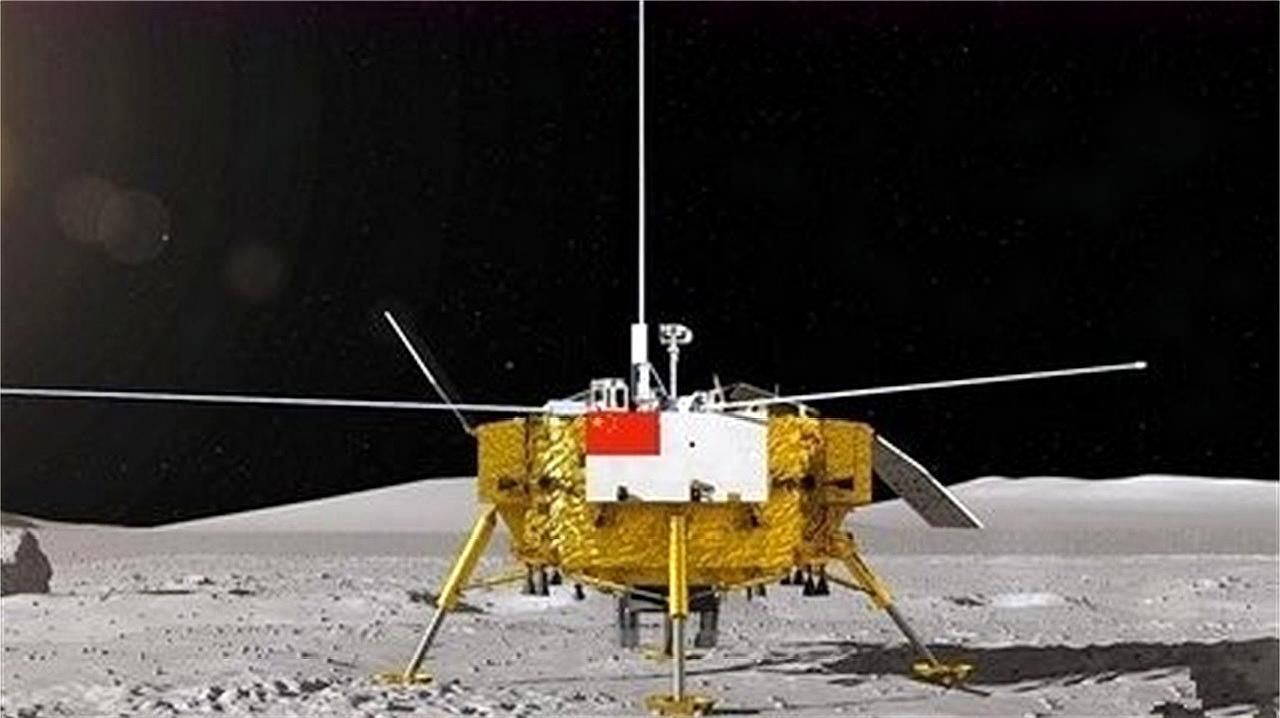 嫦娥四号登月成功,中国成第一个登陆月球背面的国家,几百度温差