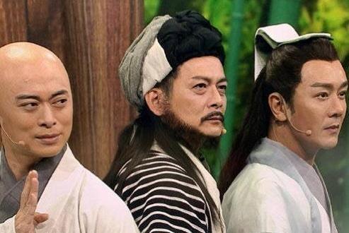 《天龙八部》主演22年后重聚,黄日华陈浩民樊少皇三兄弟引追忆