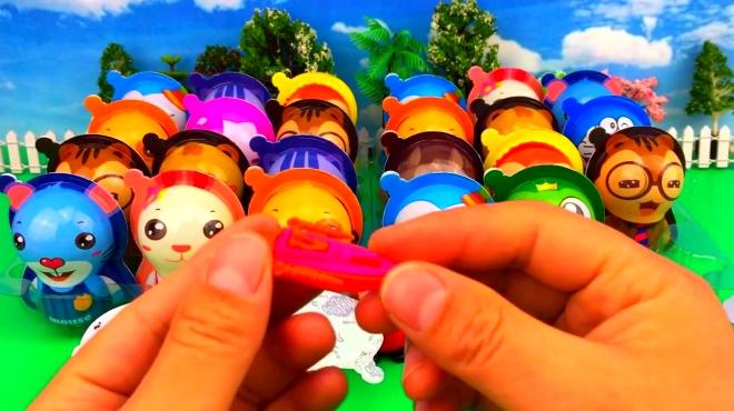 疯狂动物城奇趣蛋出奇蛋 小猪佩奇开心拆蛋玩具视频