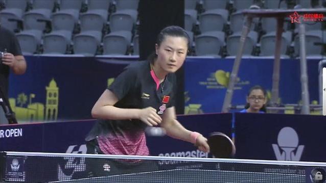 卡公赛 | 意外的没有波澜 王曼昱4-0胜丁宁进入决赛