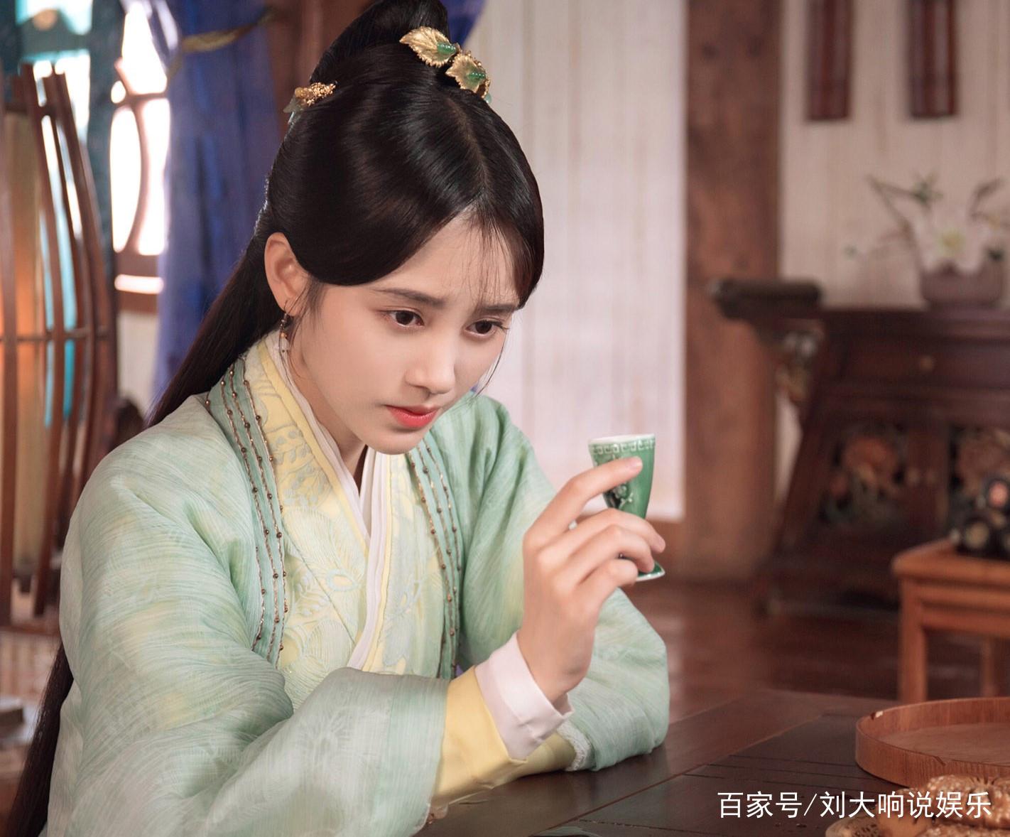 鞠婧祎:飘飘欲仙的古装美女,换上古装的她有多美,一