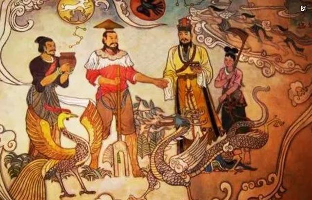 古中国的黄帝还在征服部落,埃及人却已经在修金字塔!