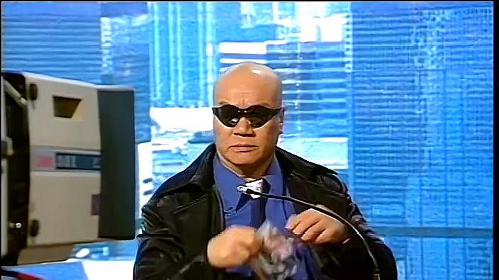 蓝大力在新闻上说:用香港市民的性命,逼迫况天佑等人现身!