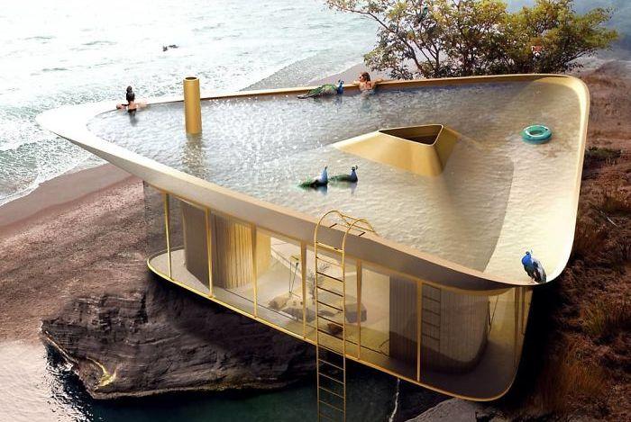 国外设计师设计充满未来感的概念房子,让人心之神往