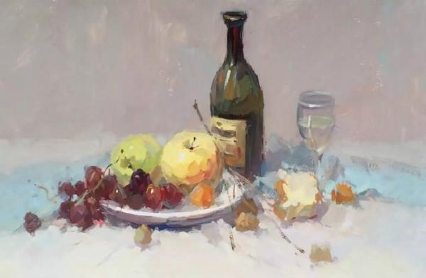 红酒瓶的画法-红酒瓶素描步骤图_素描酒瓶的画法步骤