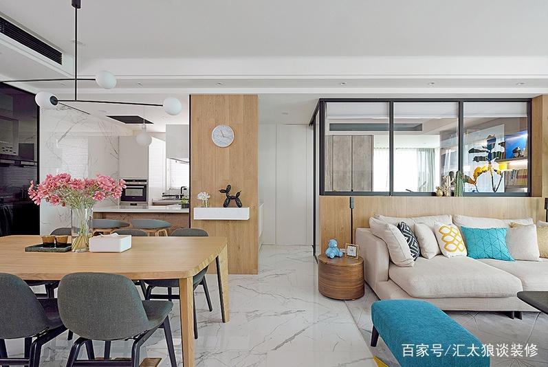100平米两居室,敞亮、有质感有灵气,一眼就喜欢,忍不住晒晒