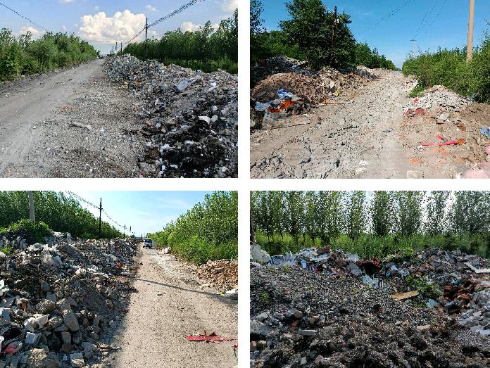 黑龙江七台河:垃圾堆放被投诉
