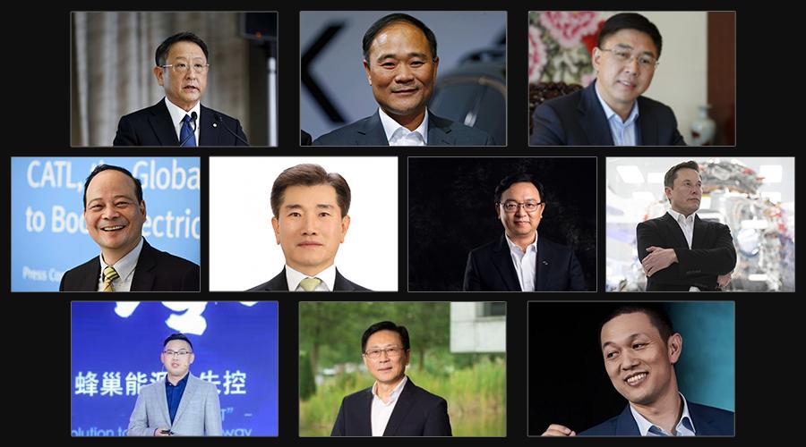 2020,动力电池食物链顶端的十个男人!