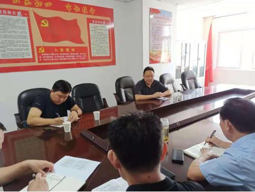菏泽市运政信息网:市交通运输局到牡丹区指导工作