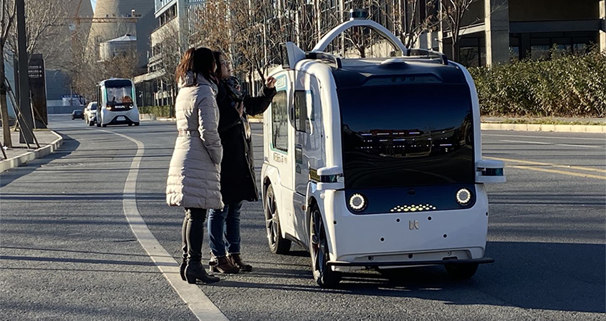2022北京冬奥会剧透:上百台无人车将扎堆亮相!