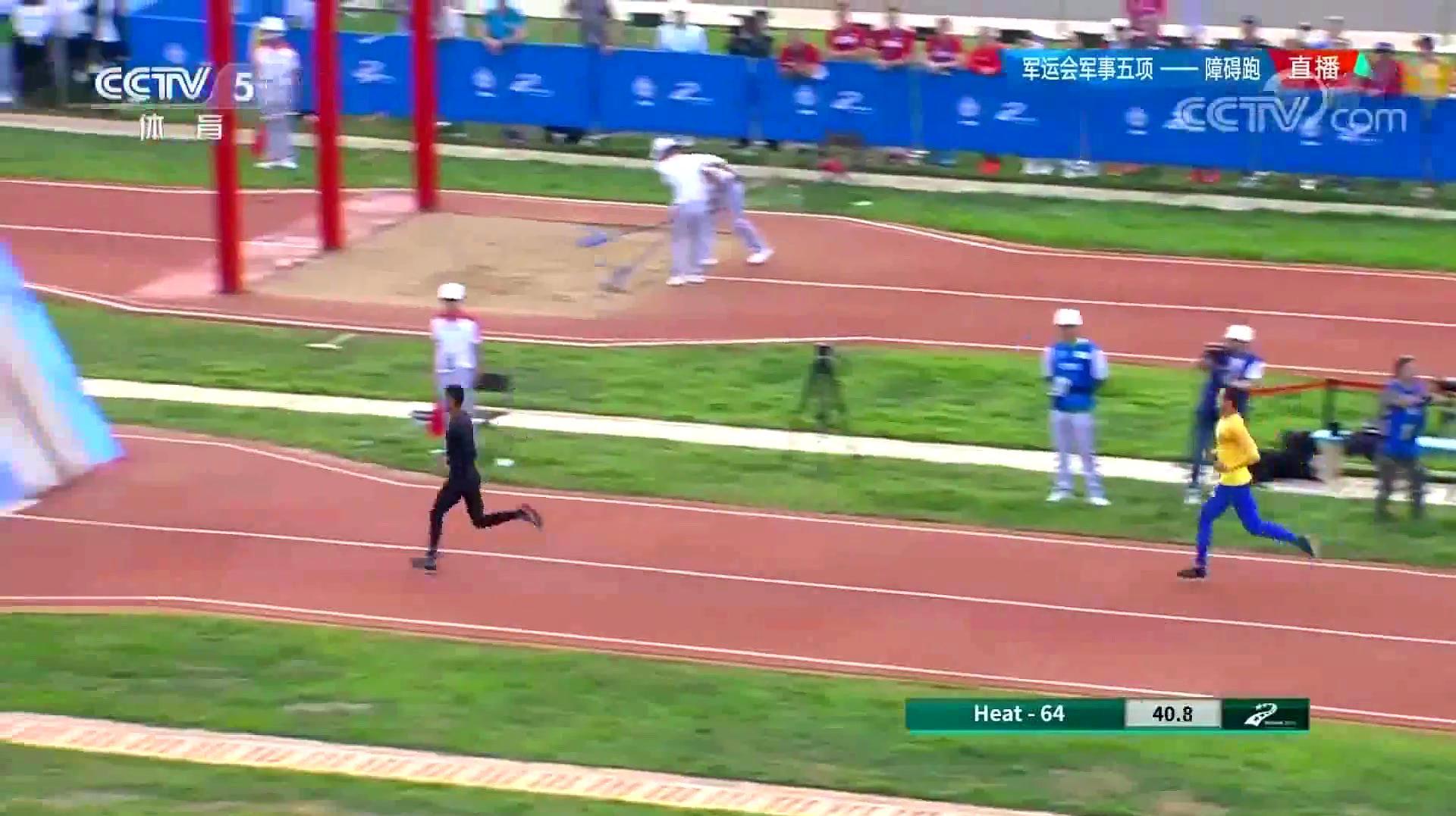 惊了!贴地飞行!中国潘玉程500米破世界纪录